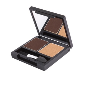 Zuii Classic Eyeshadow Duo - Two Shades for a Natural, Effortless Look
