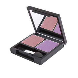 Zuii Purple Eyeshadow Duo - Two Shades for a Bright, Effortless Look