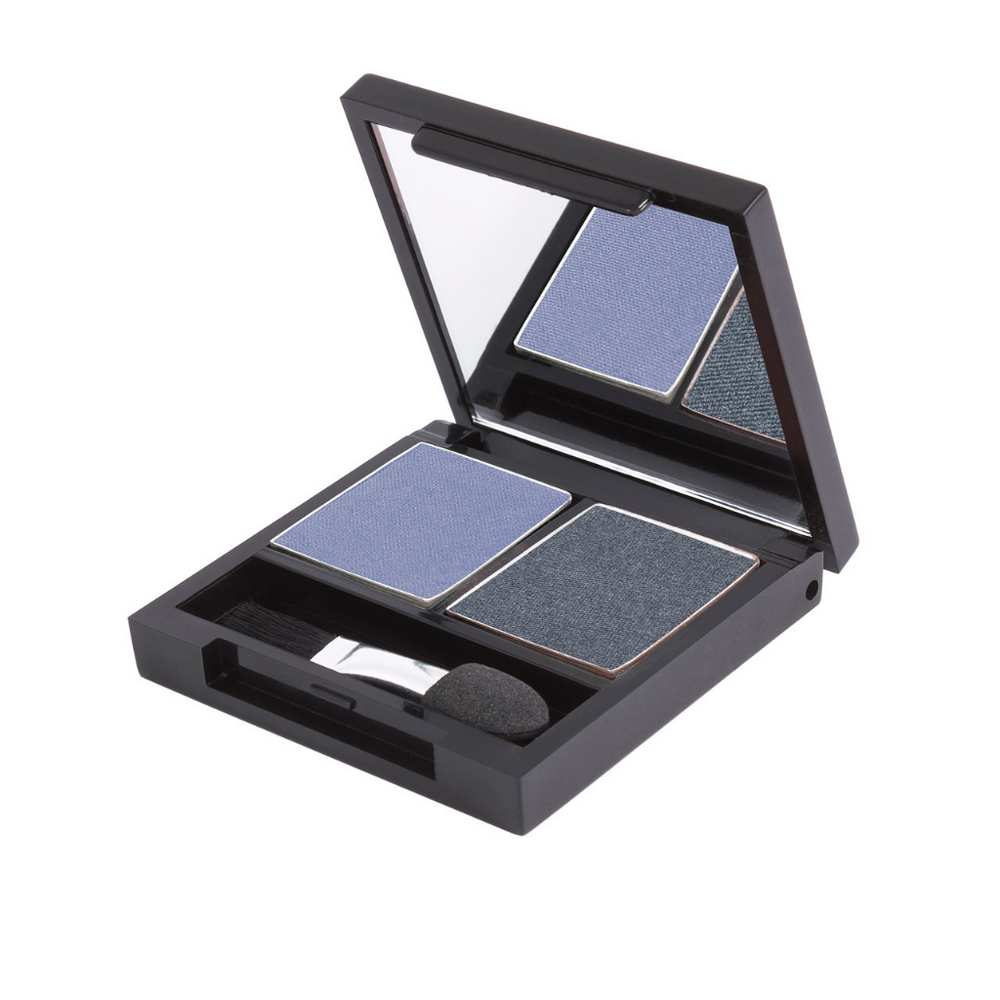 Zuii Blue/Navy Eyeshadow Duo - Two Shades for an Effortless Bold Look