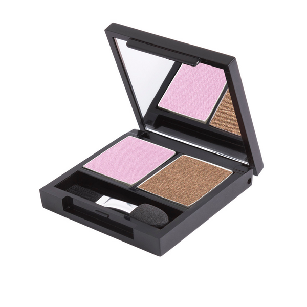 Zuii Eyeshadow Duo - Two Natural Shades for an Effortless Look