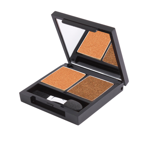 Zuii Gold Eyeshadow Duo - Two Shades for a Bright, Effortless Look
