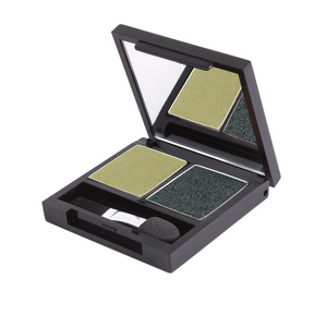 Zuii Green Eyeshadow Duo - Two Shades for a Bright, Effortless Look