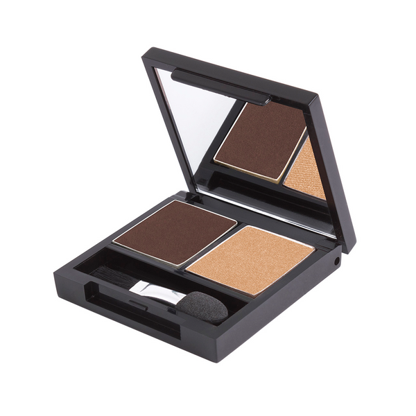Zuii Duo Eyeshadow - Two Complimentary Colours for Easy Application
