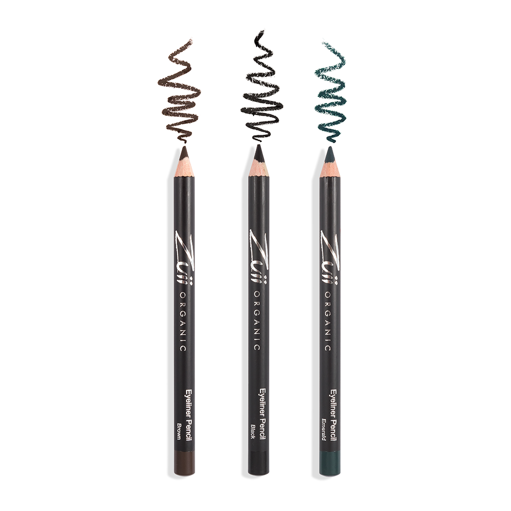 Zuii Organic Eyeliner for Easy Application, Suitable for Sensitive Eyes