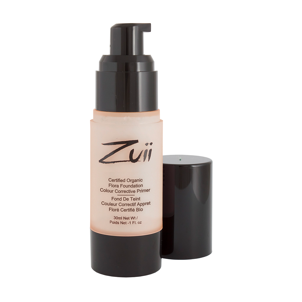 Zuii Organic Colour Corrective Apricot Primer to Cover Pigmentation and Dark Circles