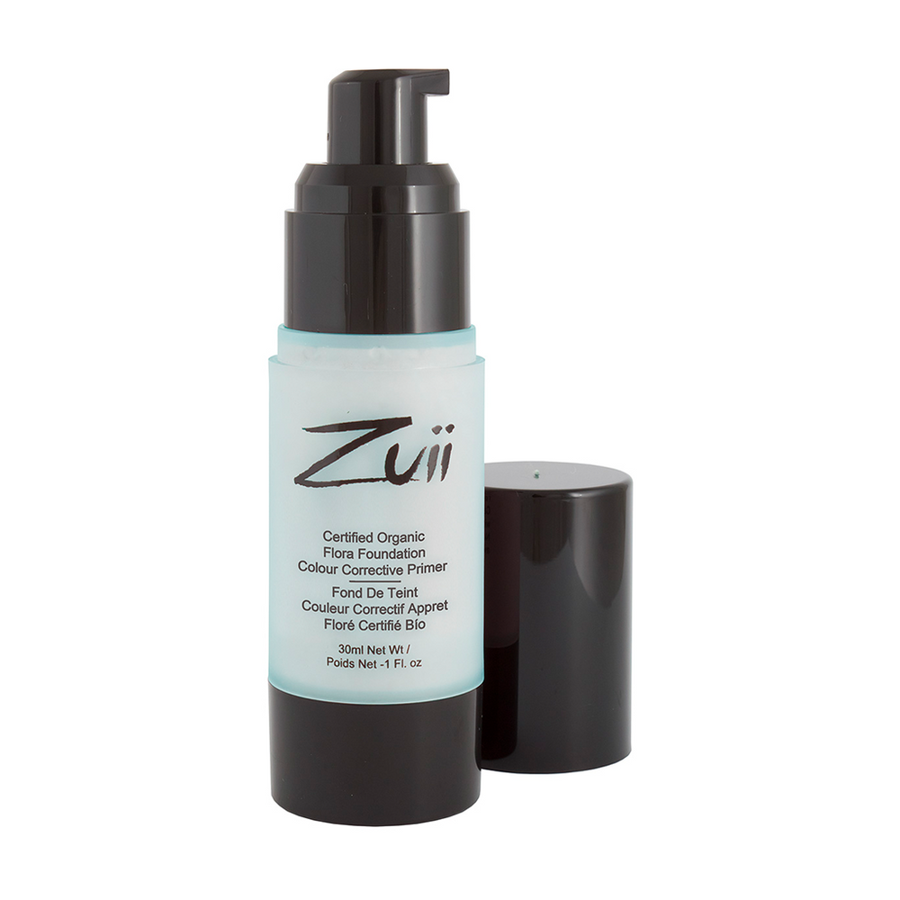 Zuii Organic Colour Corrective Mint Primer to Cover Redness