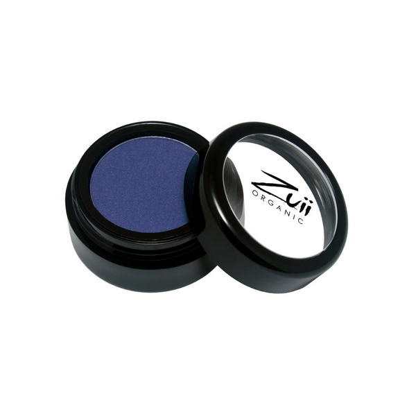 Zuii Organic Dark Blue Eyeshadow (Blue Marine)