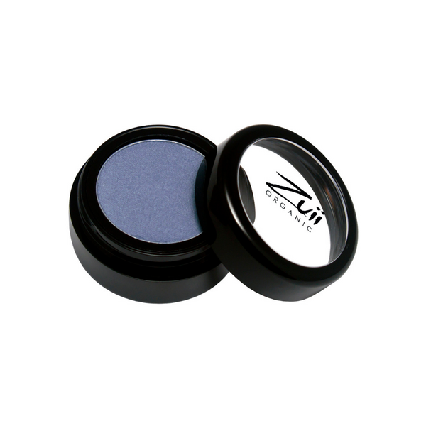 Zuii Organic Light Blue Eyeshadow (Blue Suede)