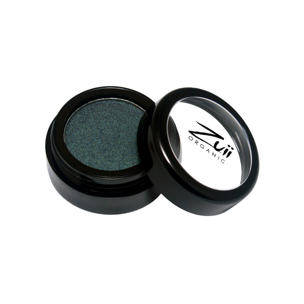 Zuii Organic Dark Green Eyeshadow (Moss)