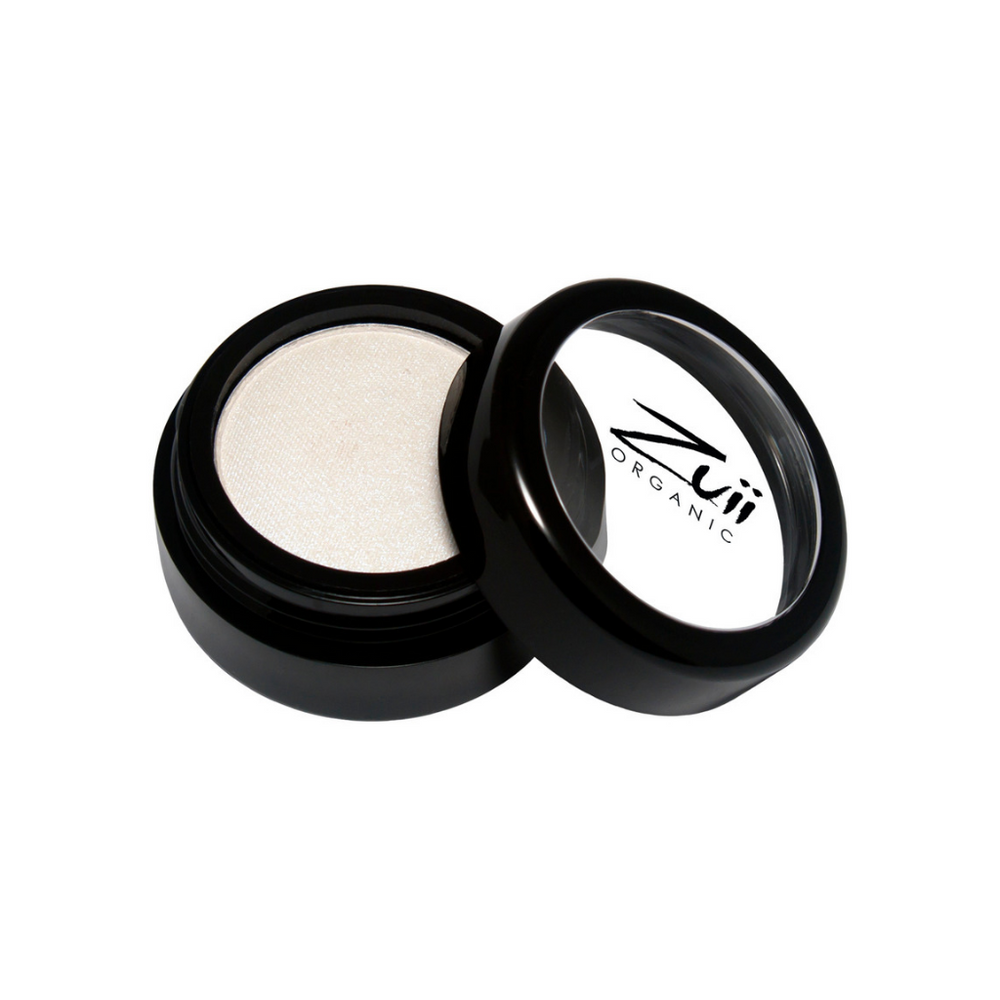 Zuii Organic White Eyeshadow With Purple UV Hues (Purple Ice)