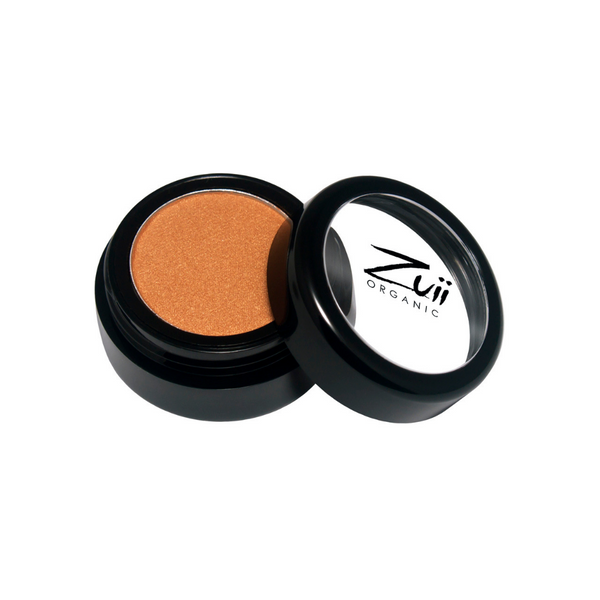 Zuii Organic Orange/Gold Eyeshadow (Rich Gold)