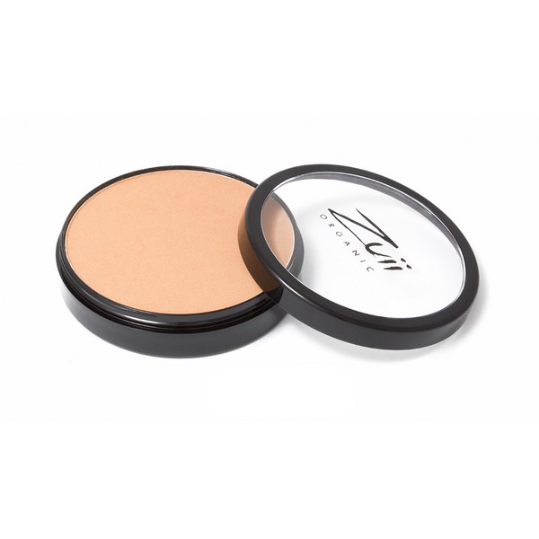Zuii Organic Flora Powder Foundation With Warm Tones (Almond)