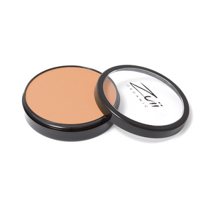 Load image into Gallery viewer, Zuii Organic Flora Powder Foundation With Warm Tones (Hazelnut)