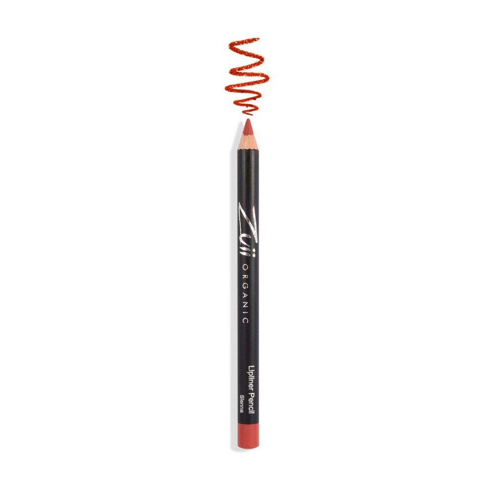 Zuii Organic Warm Pink Lipliner Pencil to Naturally Define Lip Line
