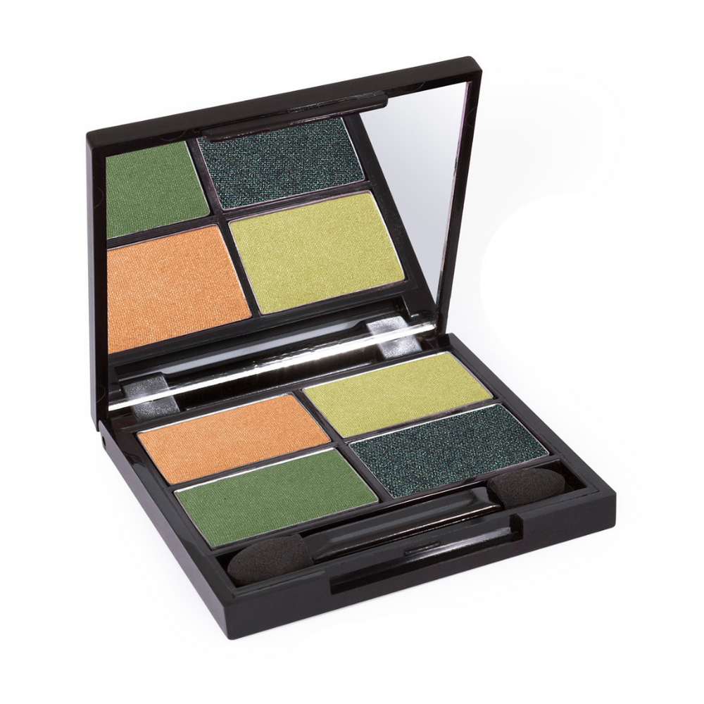 Load image into Gallery viewer, Certified Organic Quad Eyeshadow Palette