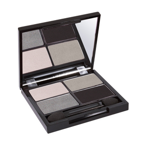 Zuii Organic Eyeshadow Quad in Bold, Smokey Shades