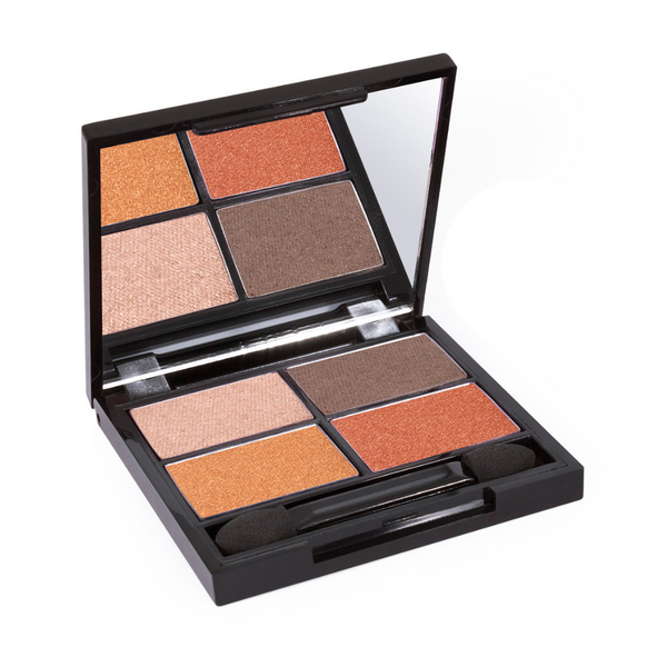 Zuii Organic Eyeshadow Quad in Natural, Every Day Shades