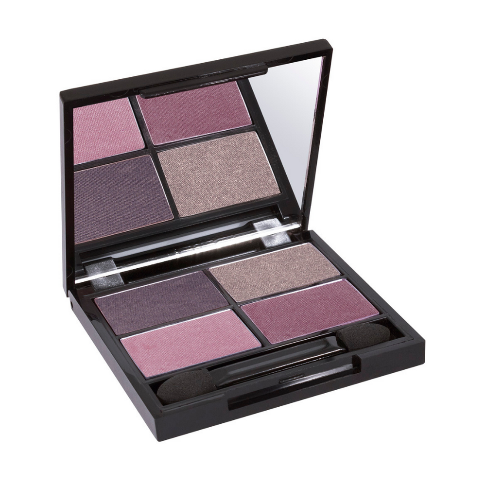 Zuii Organic Eyeshadow Quad in Purple Shades