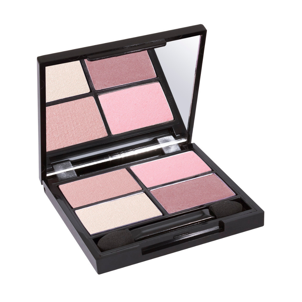 Zuii Organic Eyeshadow Quad in Pink Shades