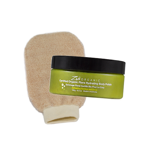Body Polish and Polishing Mitt Bundle