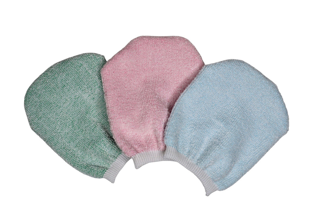 Microfibre Face Cleansing Mitt's