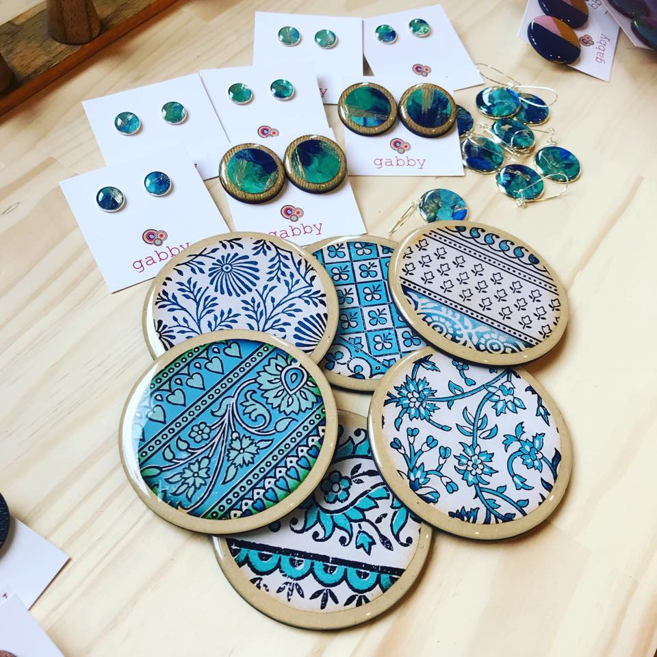 Individually Handcrafted Resin Coasters
