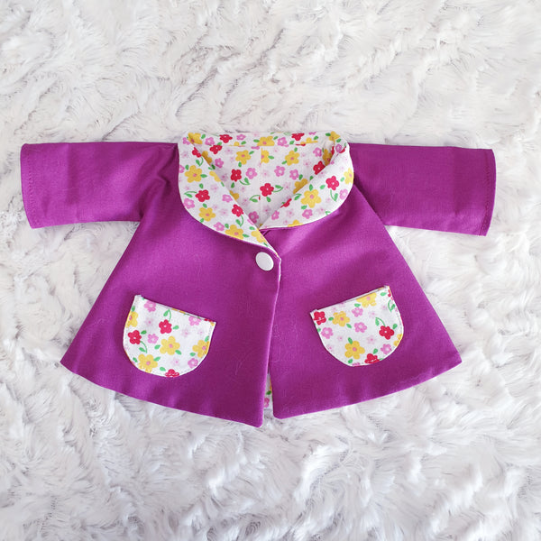 Reversible Swing Coat