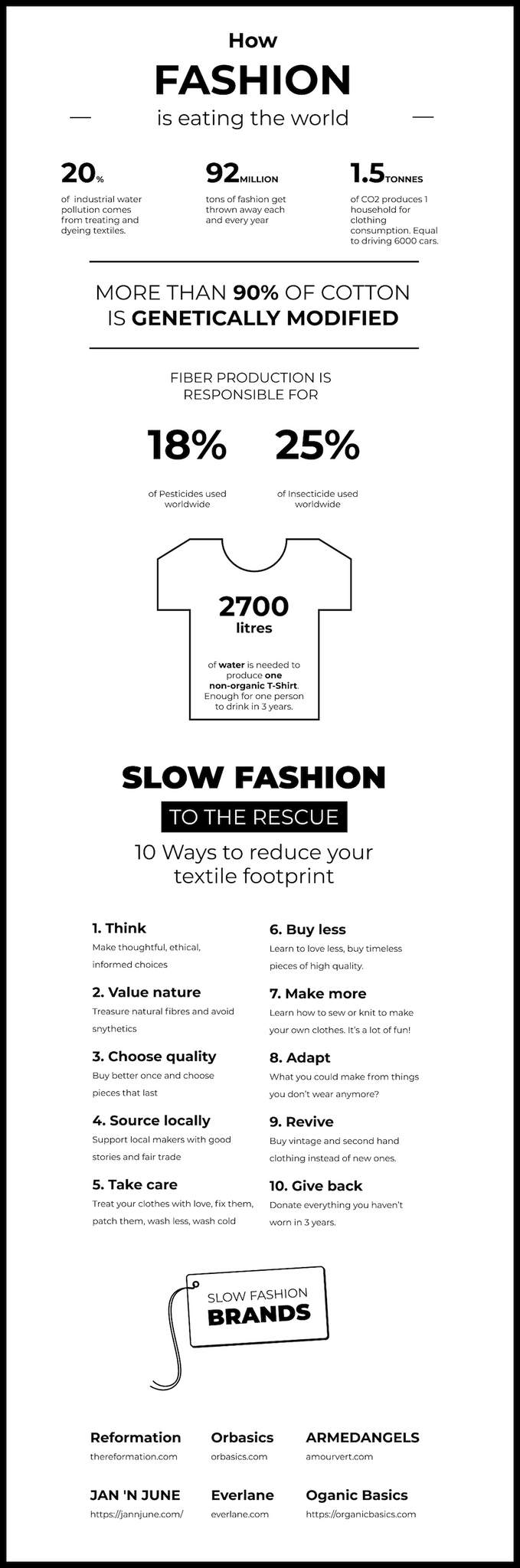 Slow Fashion Chart Orbasics
