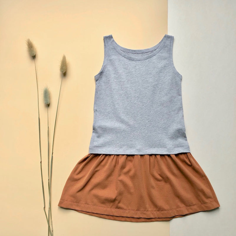 Kids-Tank-Dress-Caramel-Cookie-Orbasics  Edit alt text