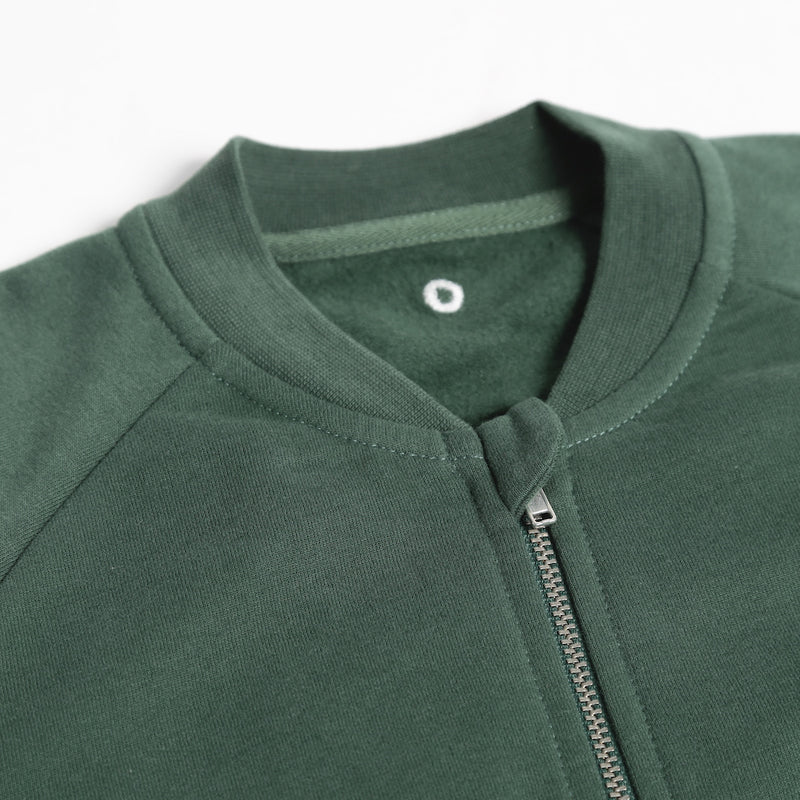 Zip-It-Up Sweater - Forest Green