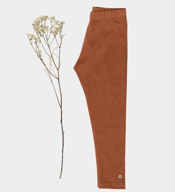 Orbasics Kids Leggings caramel cookie