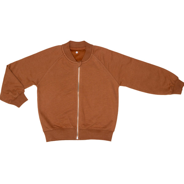 Orbasics- Zip-it-up-sweater-caramel-cookie