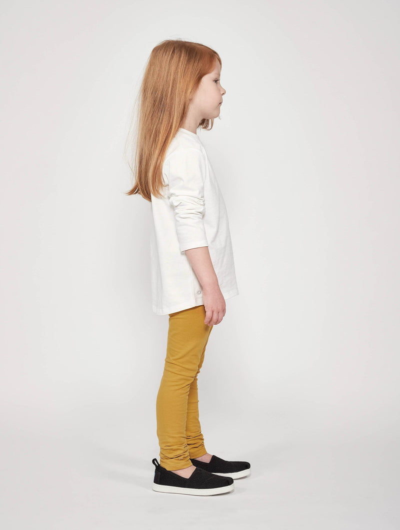 kids white longsleeve Orbasics