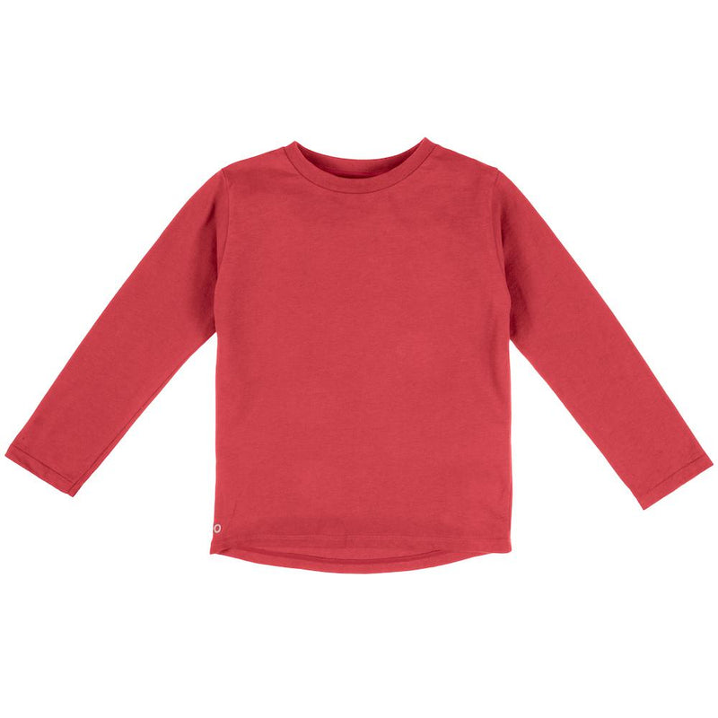 Mighty Longsleeve - Pomegranate - Orbasics