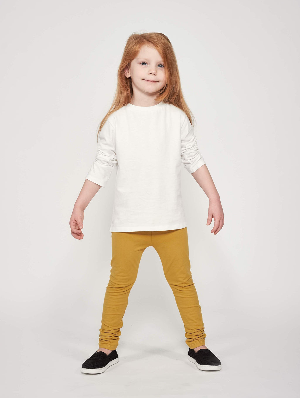 Play-All-Day Leggings - Honey Gold - Orbasics