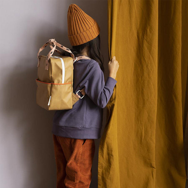 Small Backbag - sprinkles panache gold | Sticky Lemon