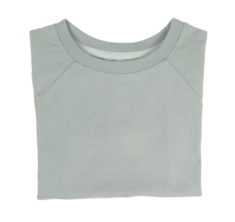 The Luxury Tee - Aqua Grey - Orbasics