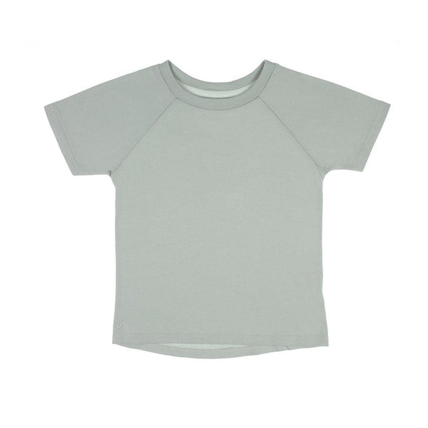 The Luxury KidsTee - Aqua Grey - Orbasics
