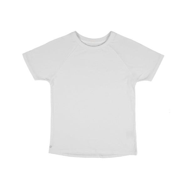 kids white T-shirt Orbasics