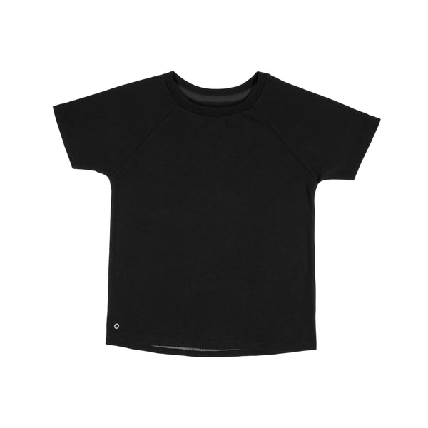 kids tee cosmic black Orbasics
