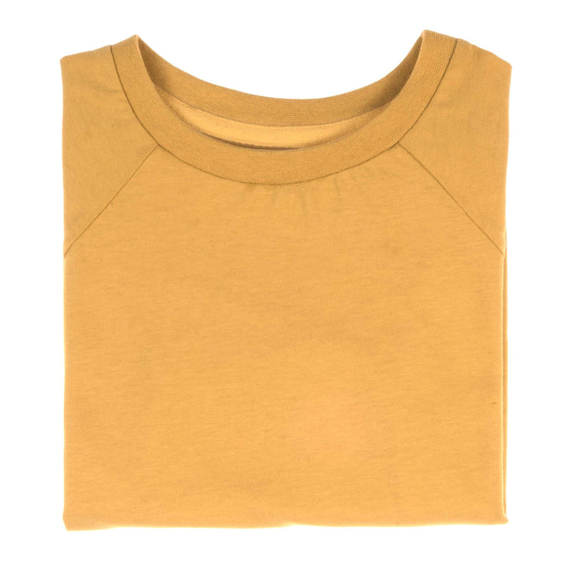 luxury tee honey gold Orbasics