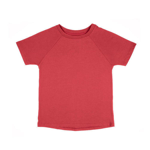 The Luxury Tee pomegranate Orbasics