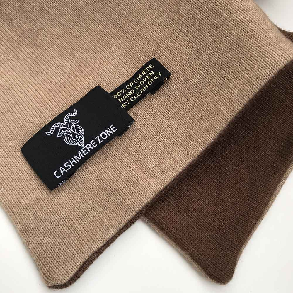 37d33f9581bc8 Dark Chocolate Brown Pure Cashmere Scarf - Cashmere Zone