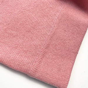 cashmere baby blanket pink
