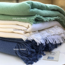 Cashmere Blanket Custom Colours