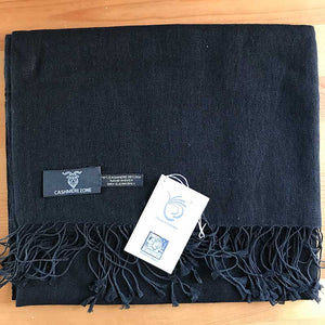 Black Pashmina Scarf ( 40% OFF )