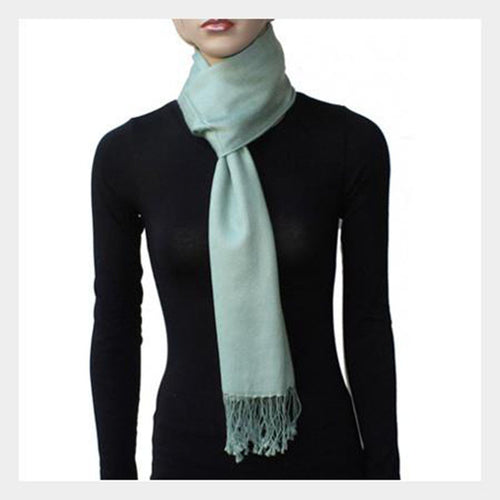 Pashmina Scarf Light Green