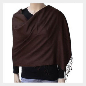 Pashmina Shawl Brown