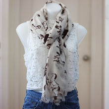 animal print pashmina shawl