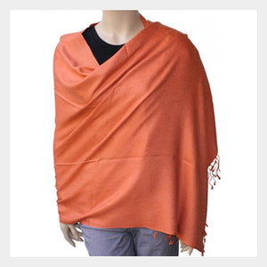 Pashmina Shawl Orange